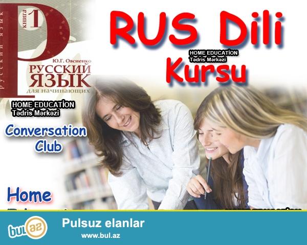 Rus dilində danışığı mükəmməl öyrənmək istəyənlər üçün danışıq klubları təşkil olunur...