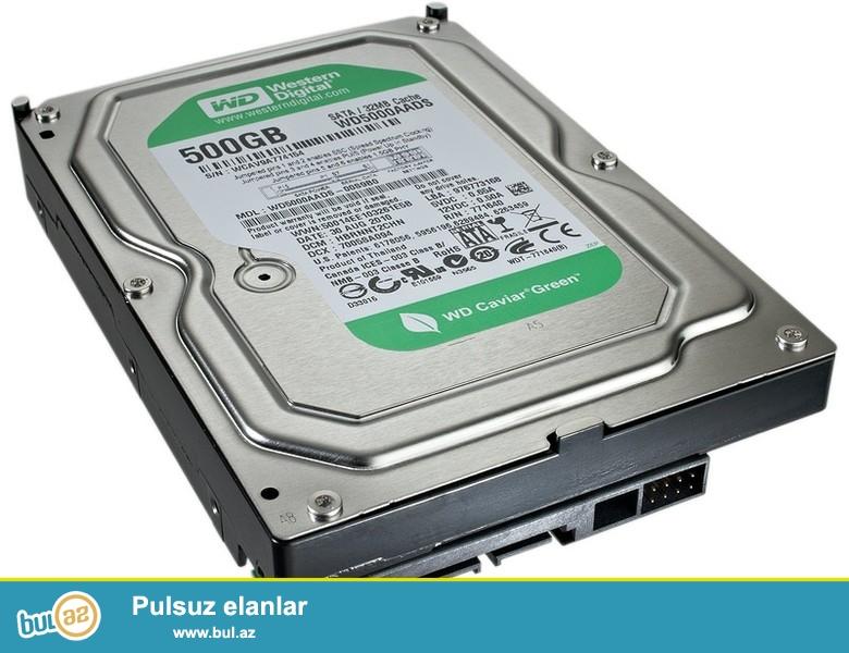 Az işlənmiş  Hard disklər münasib qiymətlərə...Hər cürə Hard disklərimiz  vardır...
