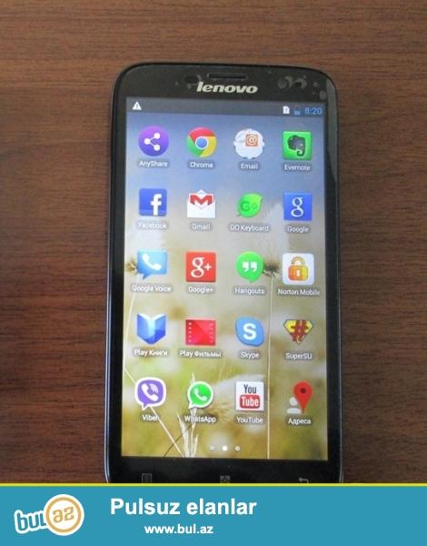 Azərbaycanda batareyasına görə ən çox satılan Lenovo modeli : Təzə,qutusunda original iki kartlı ,smartfonlar arasında ən böyük batareya tutumu olan original Lenovo P780 satılır : <br /> <br /> 2 sim kart <br /> 3G,Wifi,GPS ,bluetooth OTG dəstəkli <br /> Android 4...