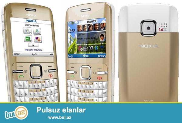 Nokia c3 satilir ela vezyetde problemi yoxdur