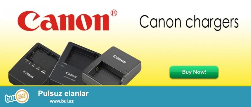Canon Nikon adapterləri (Chargers)<br /> Canon<br /> LC-E5 - Canon   EOS 450D 1000D 500D Поцелуй F X2 X3 Rebel XS XSi TLi                                  - 35manat<br /> LC-E6 - Canon   EOS 5D2 5D3 7D 60D 60Da 6D 5D Mark II III                                                         - 40manat<br /> LC-E8 - Canon   EOS 550D 600D 650D 700D Rebel T2i T3i T4i T5i Поцелуй X4 X5 X6i X7i        - 35manat<br /> LC-E10 - Canon   EOS X50 EOS 1100D 1200D                                                                                     - 35manat<br /> LC-E12 -  Canon   EOS - M EOS M 100D Rebel SL1                                                                             - 35manat<br /> <br /> <br /> (və digər aksessuarların satışı...