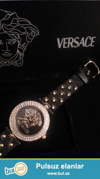 Versace qadin saati karopka pasportla birlikde catdirilma bir gun erzinde nar nomrede watsapp vardir
