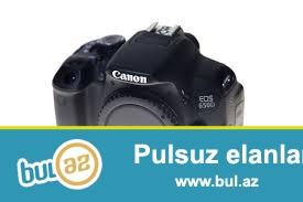 Canon 650D Body satilir hec bir problemi yoxdur ustada olmayib...