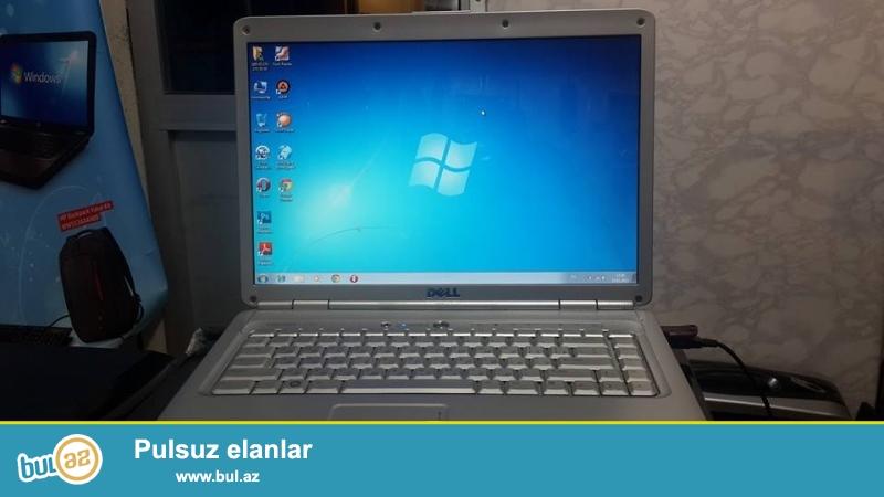 Dell notbuk satiram 120 Azn<br /> Elaqe tel 070 273 05 05<br /> Intel kor 2 duo processor 2 ghz<br /> Ram 1 gb<br /> Yaddas 120 gb<br /> 15...