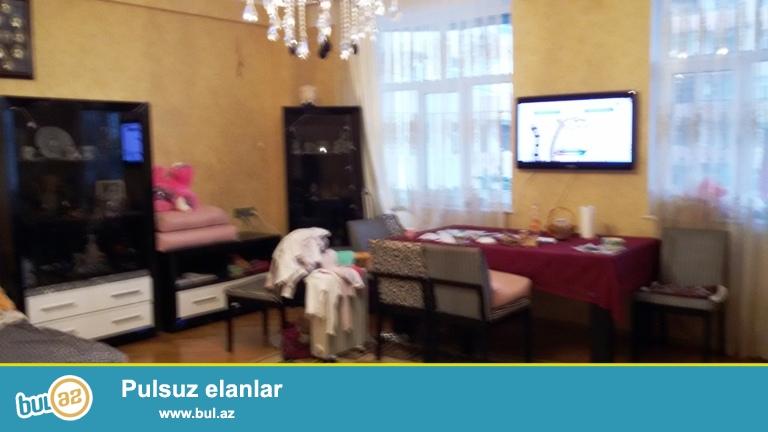 Продается 3-х комнатная квартира в престижной новостройке в районе Ясамал,по улице Шарифзаде...