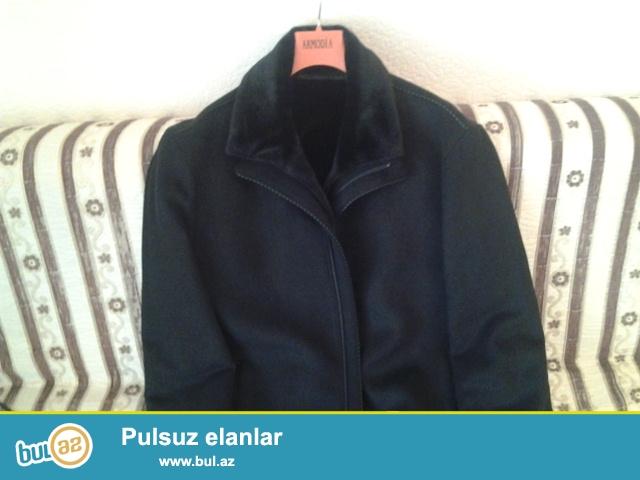 Turkiye istehsali olan 50-52 olcude teze palto satilir