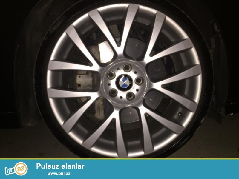 ORIGINAL BMW R21 DISKLERI TEKERLE BIRLIKDE<br /> HEC BIR PROBLEM YOXDUR<br /> ELAQE NOMRESI...