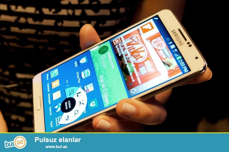 Samsung NOTE 3 ag rengde ciziqsiz ideal veziyyetde...