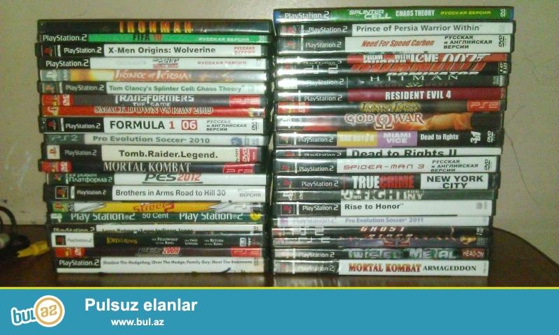 Продаю PS2 + 2 новых оригинальных джойстика+карта памяти 8 MB + 42 дисков<br /> Приставка прошиванная...