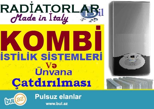 Sizin Konfortlu yaşaminiz üçün İTaliyada en yüksek texnologiya esasinda Avropada en taninmiş firmalarin Kombi ve Radiatorlarini teklif edirik<br /> <br /> RADİATORLAR <br /> BELTA - A80/500 : 6...