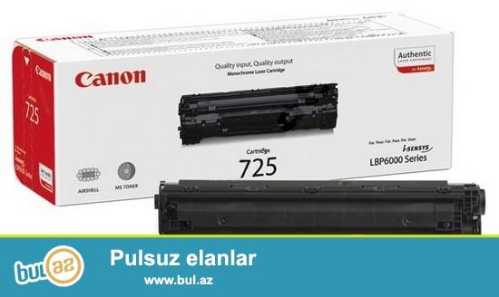 Katric Canon 725 (yeni) <br /> <br /> Sheher ichi chatdirilma + 2 azn<br /> <br /> Rayonlarada gonderilir...