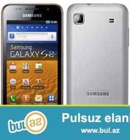 Təcili işlənmiş Samsung Galaxy S  telefonu satılır.