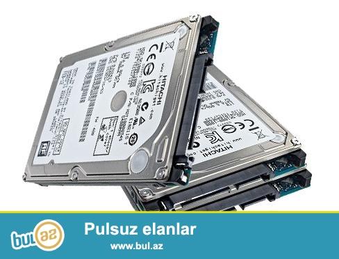 320GB noutbuk üçün hard disklər. 40 manatdan. Təzədir...
