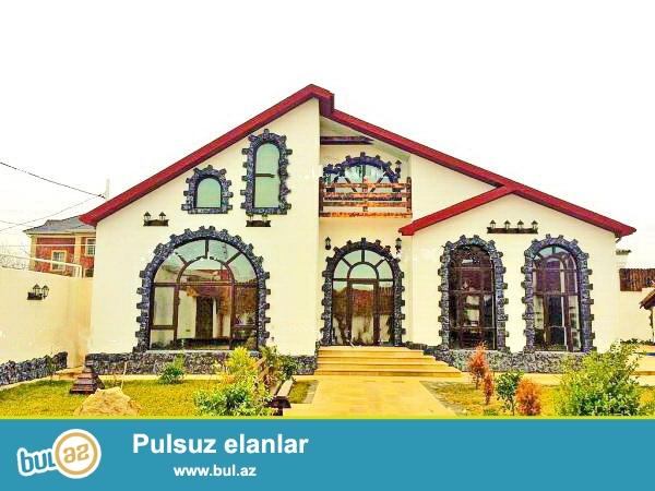 **РУФАТ*АЙНУР** СРОЧНО продается новопостроенная дача в Мардакане, расположенная на 6ти сотах, 150 кв...