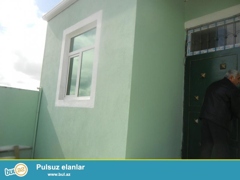 Bineqedide  170   nomreli   marwurutun  yoluna   yaxin   5  daw   kursulu  sahesi    50  kv    olan   2   otaq   temirli  ayri   heyet   evi   satilir...