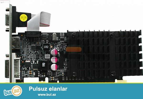 Komputer uchun Video kart Geforce 210 1gb<br /> <br /> yenidir !!!<br /> <br /> Sheher ichi chatdirilma + 2 azn<br /> <br /> Rayonlarada gonderilir...