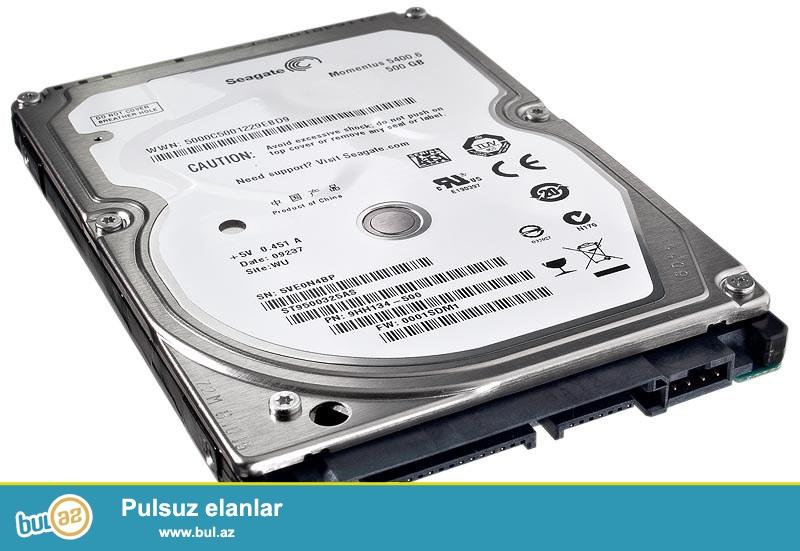 Notebook hard diskleri 2.5 sata 500gb (yeni)<br /> <br /> Sheher ichi chatdirilma + 2 azn<br /> <br /> Rayonlarada gonderilir...