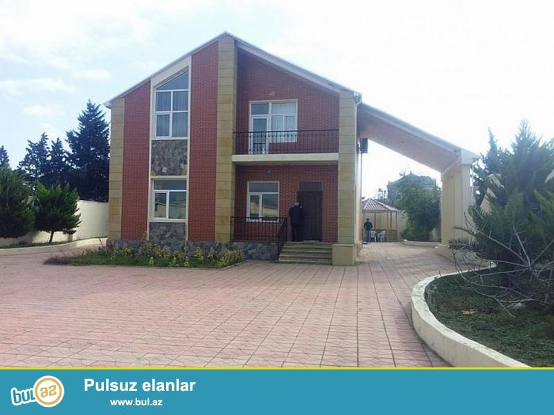 Очень срочно! В Мардакянах рядом с санаторией Гарангуш продаётся 2-этажный 5 комнатный особняк площадью более 250 кв...