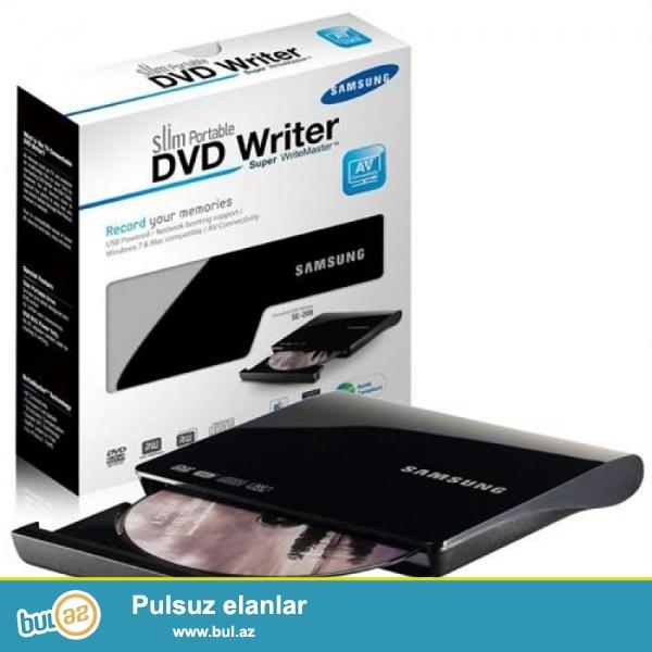 Usb DVD rayter (kenardan qoshulan) Samsung <br /> Yeni!