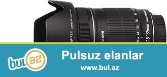 Canon 18.135obyektiv+ blenda 220azn teze kimdir 2defe yoxlaniw cekliwi edilib ...