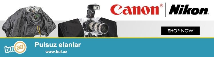<br /> Canon Nikon və digər modellər üçün yağışdan qoruyucu...