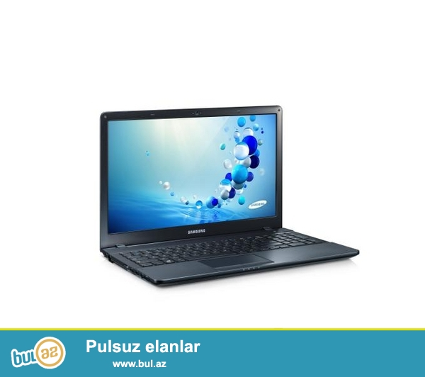 Samsung NP270-E5V  (yeni)<br /> <br /> <br /> Ekran      15.6<br /> <br /> Ram        4gb<br /> <br /> Yaddash    500gb<br /> <br /> Prosessor  i3<br /> <br /> Video kart Intel<br /> <br /> Tel: 050 227 27 55