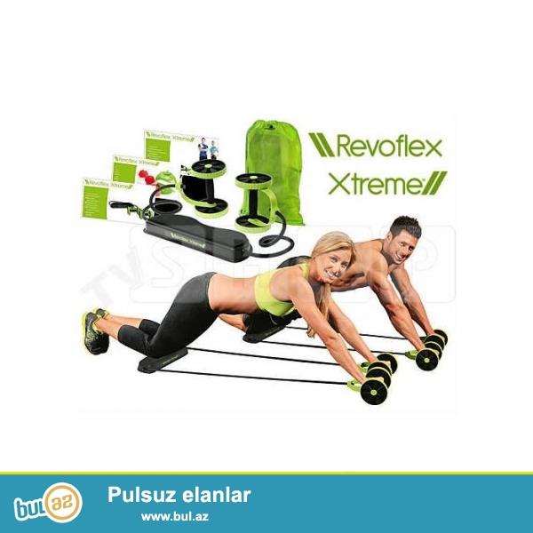 Revoflex Extreme (idman aleti) Yeni!<br /> <br /> Chox Funksiyali idman aleti<br /> <br /> Sheher ichi chatdirilma + 2 azn<br /> <br /> Rayonlarada gonderilir...