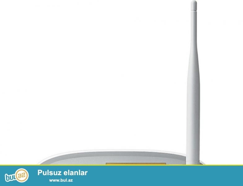 TP-link 8951..  4 port Wi-Fi modem... 150mb (yeni)<br /> <br /> Sheher ichi chatdirilma + 2 azn<br /> <br /> Rayonlarada gonderilir...