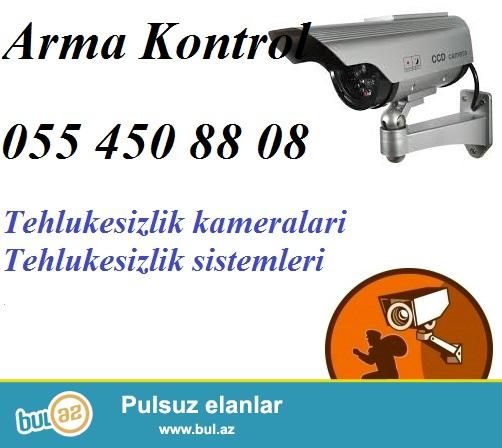 Tehlukesizlik kamera sistemi. <br /> <br /> Azerbaycanin istenilen bolgesi ucun tehlukesizlik kameralari, nezaret sistemlerinin satisi ve qurasdirlimasi xidmeti Arma Kontrol sirketi terefinden heyata kecirilir...