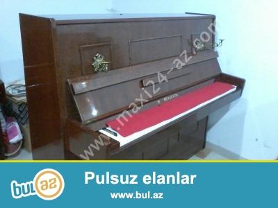 3-Pedalli Belarus Pianino satiram Az istifadə olunub ideal vəziyyətdə