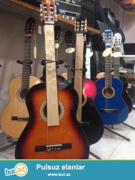 GItar muellimlerin secimi olnan Silverio klassik gitar 2 ilden coxdur<br /> H...