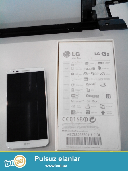 LG G2 D802<br /> <br /> <br /> Sebeke2G,3G<br /> ProsessorQuad-core 2...