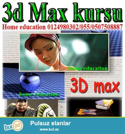 Home Education tədris mərkəzi 3d max kurslarına tələbə qəbulunu elan edir...