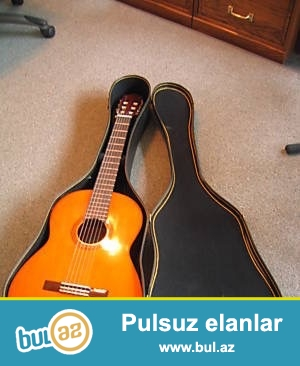 Sifarisle getirilmiw temiz professional Yamaha gitara satiram...