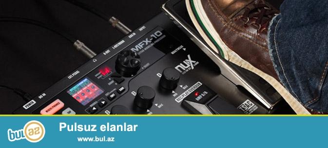 Taninmis NuX firmasinin yeni elektro girar ucun xususi yeni model pedal MFX 10...