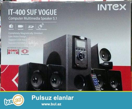 Kalonka Intex IT-400 suf vogue (yeni) Komputer ve DVD uchun<br /> <br /> Kartla ve flashkartla-da oxuyur...