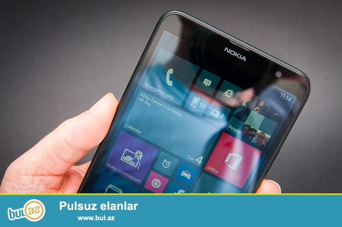 Az iwlenmiw Nokia Lumia 625 satiram.super veziyyetdedi...