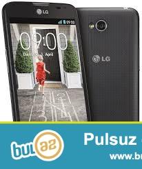 Teze LG L70 D325 smarfon satiram,qutunun icinde plyonkasida ustunde,zemanetide var.