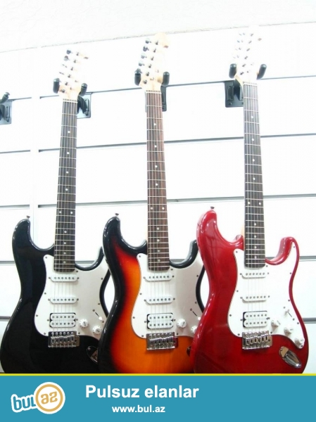 Almanyanin taninmish Masterwork firmasina mexsus Her nov gitaralar...