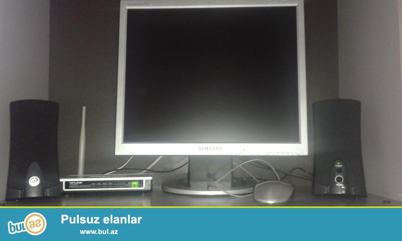 Kamputer əla veziyyətdədi təzə Farmat olunub....
