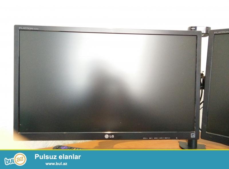 Full HD 24 inc monitor. Bütün aksesuarları var. Heç bir problemi yoxdur ...