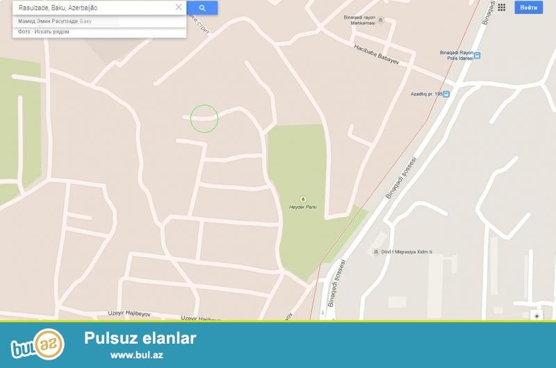 Ev, Binəqədi Rayon İcra Hakimiyyətinin yaxınlığında