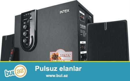 Kalonka Intex IT-1800beats (yeni) Komputer ve DVD uchun<br /> <br /> Kartla ve flashkartla-da oxuyur...