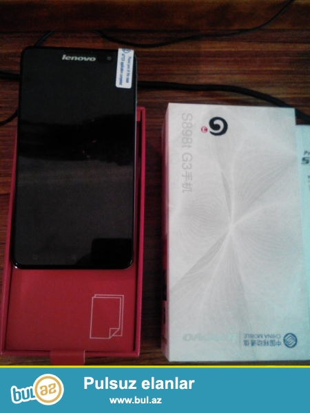 Lenovo S898T (yeni) Pulsuz chatdirilma!<br /> <br /> Sebeke2G,3G<br />  <br /> ProsessorQuad Core<br /> <br /> Emeliyyat sistemiAndroid 4...