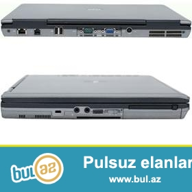 Dell D630 Notebooklari . COMB portlari var. Dual core 2...