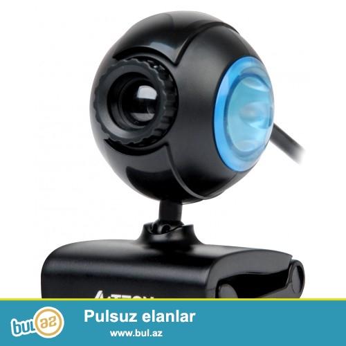 Web Camera A4tech pk-752F (yeni) <br /> <br /> Sheher ichi chatdirilma + 2 azn<br /> <br /> Rayonlarada gonderilir...