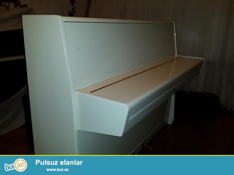 aq rengli pianin ea veziyyetde almaniya istehsali ziermanmm