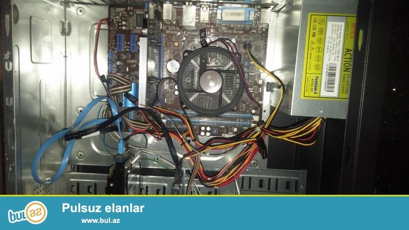 <br /> <br /> Cpu i3 3.30 GHZ<br /> <br /> SSD hard disk 120 GB <br /> <br /> hard disk 500 GB <br /> <br /> Video Card Nvidia geoforce gt 430 sddr 2 GB<br /> <br /> Ram 5 GB<br /> <br /> 6ay qaranti