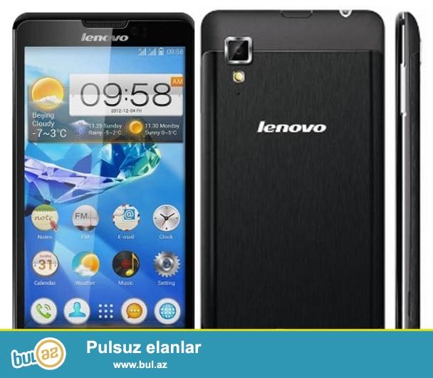 Lenovo P780 (yeni) Pulsuz chatdirilma!<br /> <br />  <br /> ProsessorQuad-core  MTK 6589W <br /> <br /> Emeliyyat sistemiAndroid 4...