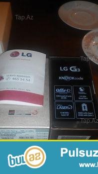 LG G3 16 GB. Tamamile tezedir.Nomre qoyulmayib, hec vaxt istifade olunmayib...